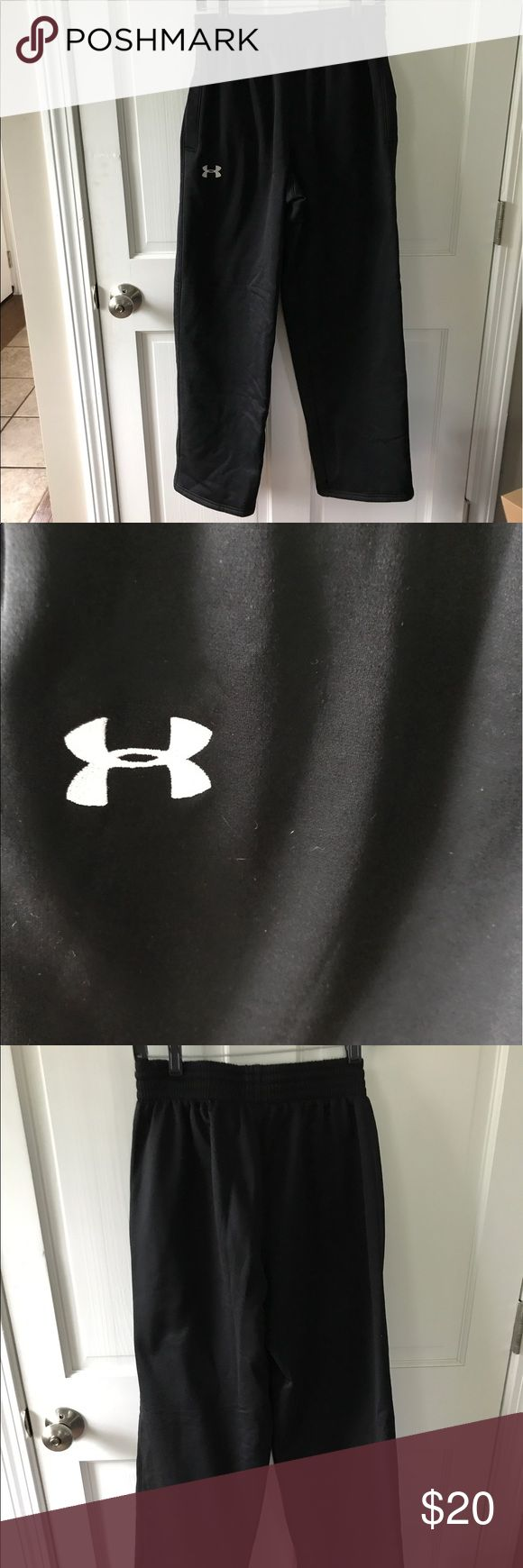 Under Amour sweat pants Like new only worn a couple times. Black under armour sweat pants. Really warm and comfortable. Under Armour Pants Sweatpants & Joggers