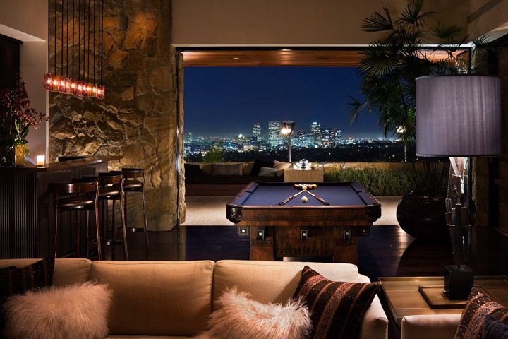 like the bar: Games Rooms, Dreams Houses, Jennifer Aniston, Gameroom, Interiors Design, Pools Tables, Beverly Hill, Architecture Digest, Jenniferaniston