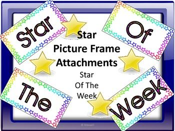 classroom window clipart. star of the week picture frame attachments classroom window clipart i