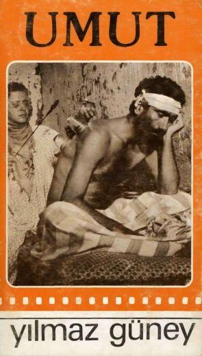 Umut (Y.Güney) senaryo kitabı - Umut (film, 1970) - VikipediUmut, senaristliğini, yönetmenliğini, yapımcılığını ve başrol oyunculuğunu Yılmaz Güney'in yaptığı filmdir. Filmin oyuncu kadrosunda ayrıca Tuncel Kurtiz, Osman Alyanak ve Enver Dönmez yer almaktadır.