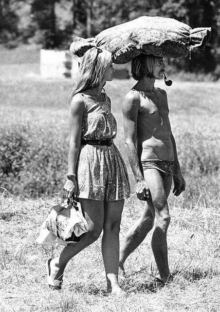 Hippie couple 1967