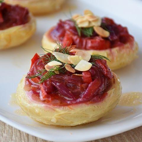 "121 Beğenme, 6 Yorum - Instagram'da İnci Berna K. (@incitadinda): ""Artichoke with Caramelized Onions, Kapia Pepper, Fresh Dill & Toasted Almonds. First artichoke dish…"""