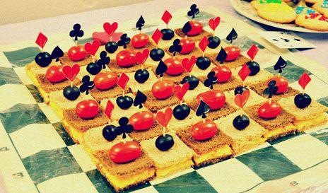 Checkboard sandwiches