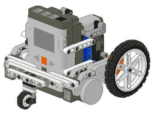lego robotics robot designs | BattleBricks: The iPhone Lego NXT Robot