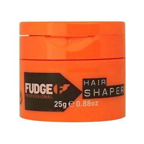 Fudge Hair Shaper 25 gr Mini Hair Shaper  Description: Fudge Hair Shaper 25 gr Fudge Hair Shaperis eenmatte modelleringscrèmemet desterke fixatieFactor 10.De Fudge Hair Shaperversterkt en verbetertde conditie van het haar tijdens het stylen. Het dringt diep door in de haarschacht met behulp vangehydroliseerde tarweproteïne. De hairshaper van Fudge is zelfséén van de best verkochte stylingsproductenvan de wereld. Mannen met pit zoals Brad Pitt maken maar al te graag gebruik van deHair…