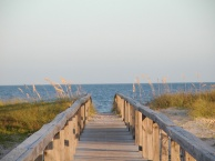 A long, thin barrier island in Northwest Florida, St. George Island is a serene and pet-friendly vacation spot. St. George Island State Park occupies the eastern