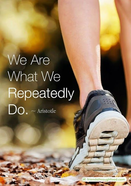 """We are what we repeatedly do. Excellence, then, is not an act, but a habit."" - Aristotle #Motivation #Quotes #Fitness"