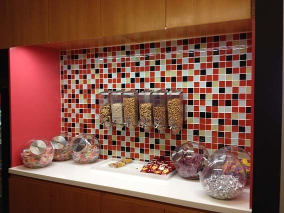The snack bar at vimeo, what is not to love
