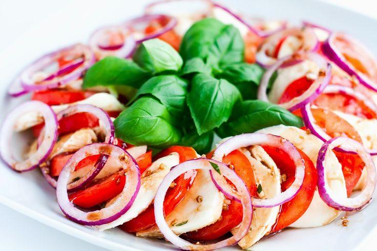 Mad & Søde Sager: Tomatsalat med mozzarella og balsamico