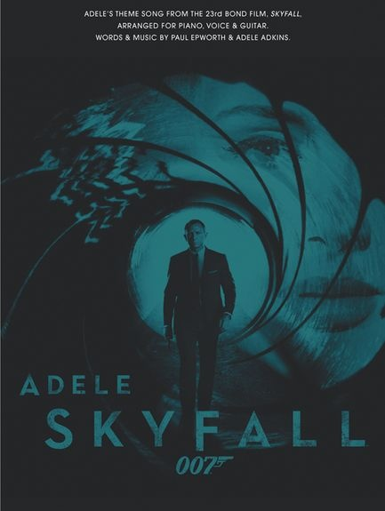 Adele: Skyfall - Piano, Vocal and Guitar. £3.99