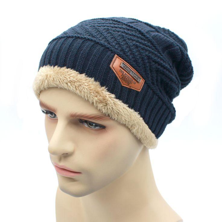 2016 knit scarf cap neck warmer Winter Men Hats For  women Caps warm Winter Beanie  Knit Bonnet Hat balaclava