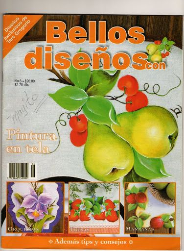 205 BELLOS DISEÑOS Pintura em tela n. 6 - maria cristina Coelho - Picasa Web Albums... FREE BOOK!