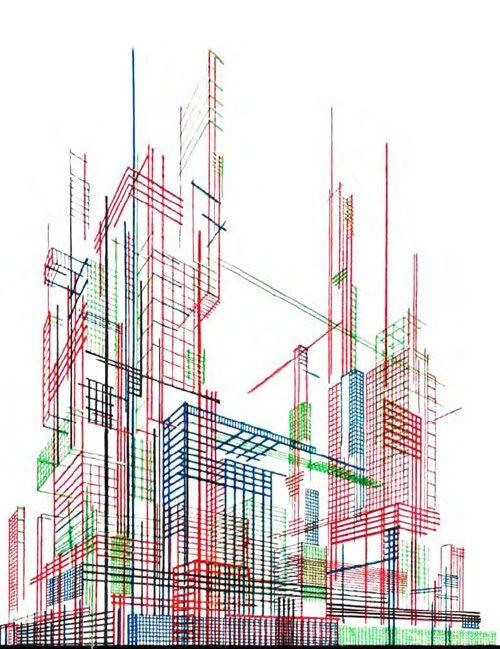 Architectural Fantasies - Iakov Chernikhov