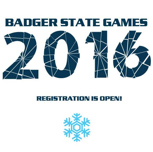 Badger State Winter Games starts TONIGHT!! Check out the schedule! January 15-17, 2016 NEW! Ski Jumping: Friday, January 15 Archery NASP: Saturday, January 16 Bowling: Saturday, January 16 http://badgerstategames.org/winter-games