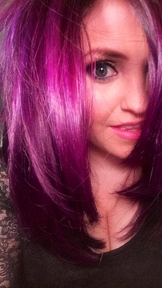 MAKEUP For PURPLE HAIR ;) (+playlist) | CeCeMakeupMarie | Pinterest | Purple Hair Hair And Purple