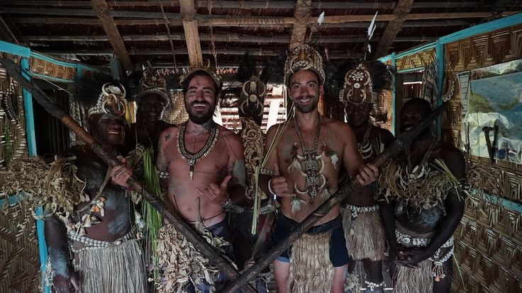 World Party TV Show in Papua New Guinea, part 2, Alpha TV, with Sakis Tanimanidis Georgios Mavridis. 1 June 2016, 22:00. #SakisTanimanidis #GeorgiosMavridis #YOLO #TvShow #documentary #travelling #entertainment