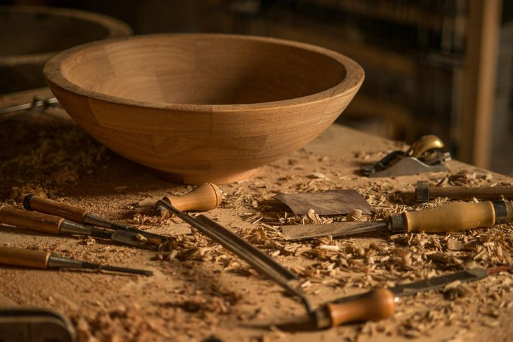 Our #wooden basins in the making #AAprojects