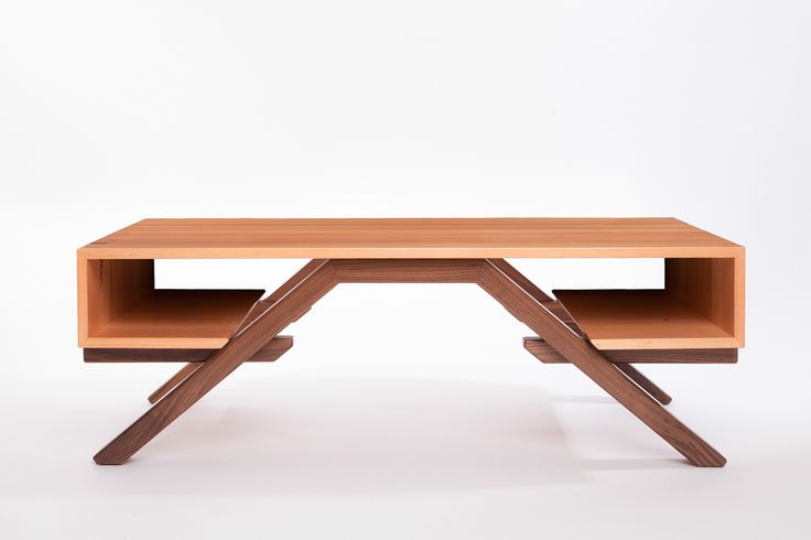 A modern collection of wood furniture with a strong sense of craftsmanship, warmth, and fun, inspired by the designer's carefree summers spent in Scotland.
