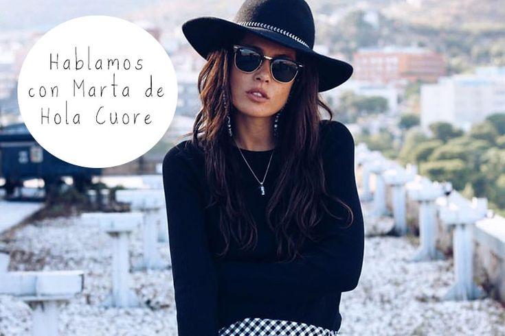 """Entrevista a Marta del blog Hola Cuore: """"No soy perfecta, por eso hago deporte"""""""