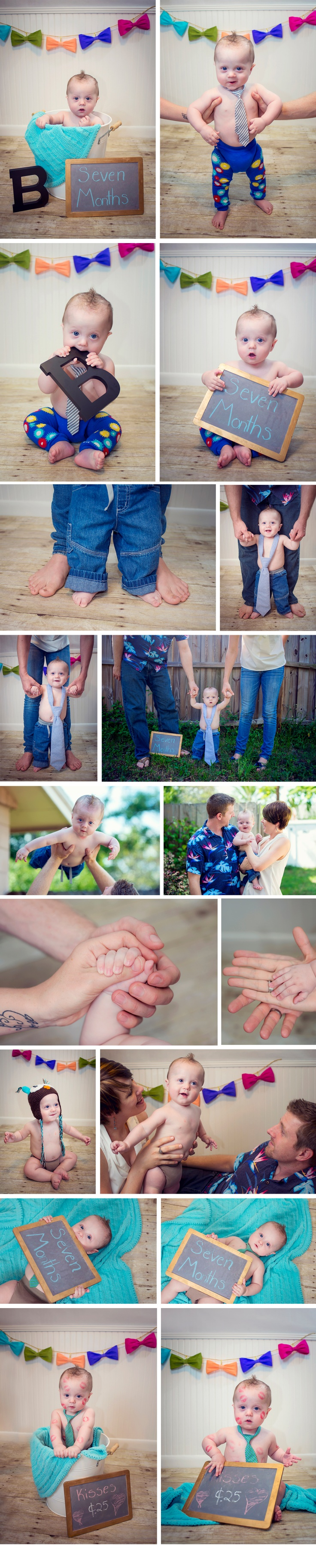 Professional toddler portraits in home studio Florida