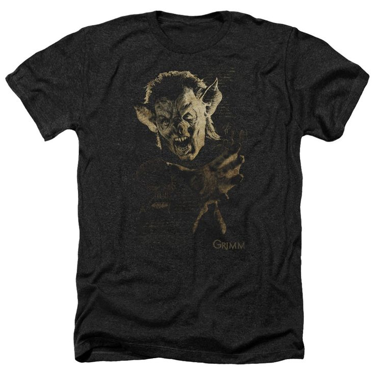 """Checkout our #LicensedGear products FREE SHIPPING + 10% OFF Coupon Code """"Official"""" Grimm / Murcielago - Adult Heather - Grimm / Murcielago - Adult Heather - Price: $34.99. Buy now at https://officiallylicensedgear.com/grimm-murcielago-adult-heather"""