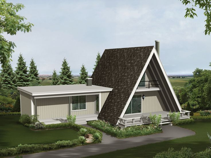 A Frame House Plans
