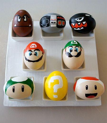 Super Mario Easter Eggs
