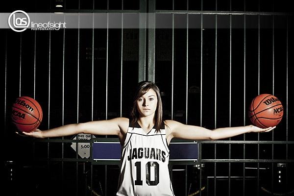 girls basketb pantherettes pose - 600×400