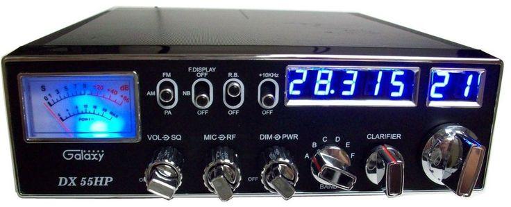 GALAXY DX55HP Amateur Ham 10 Meter Radio Transceiver AM/FM  #Galaxy