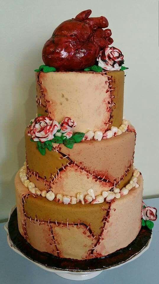 Horror Wedding Cake                                                                                                                                                                                 More