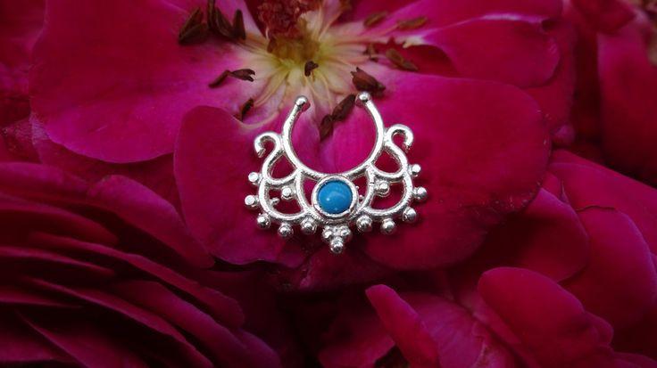 Horseshoe Septum,Fake Septum,Piercing Ring,Septum Jewelry,Septum,Septum Clicker. #BodyJewelry