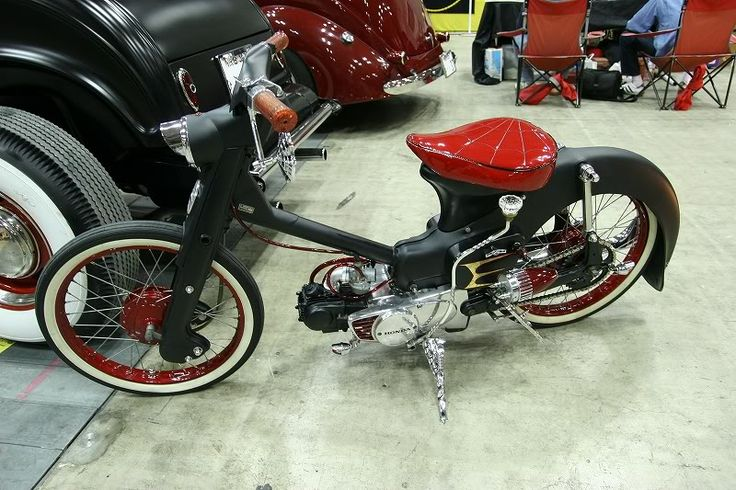 I like it honda cub