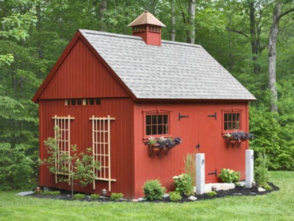 Gartenhaus Schwedenstil Schöne Gartenideen