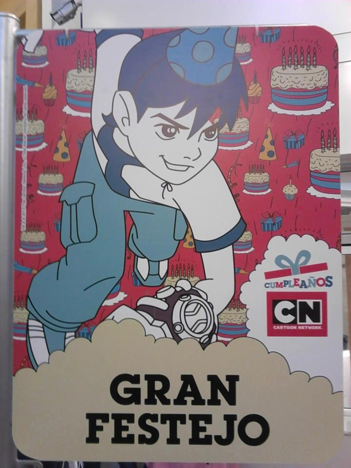 ¡Listos para el gran festejo de Cartoon Network!