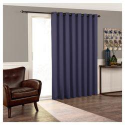 Tricia Room Darkening Patio Door Panel 84 X100 Eclipse Patio Door Curtains Patio Doors Panel Doors