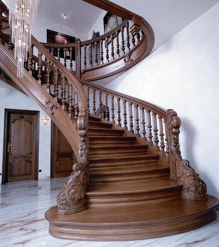 дешанель это резные маршевые лестницы фото можно