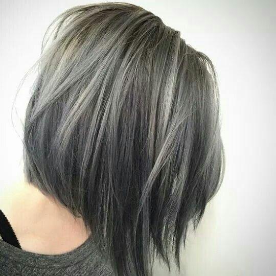 Best 25+ Grey hair young ideas on Pinterest | Silver grey hair dye ...