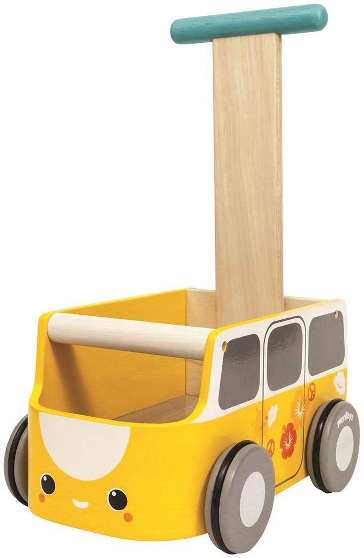 Plan baby toys van walker yellow