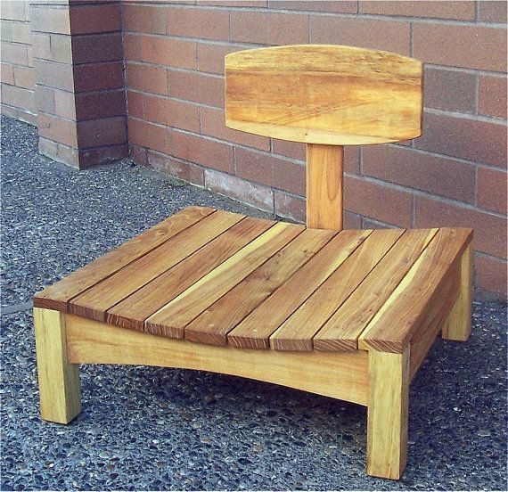 Hand Crafted Meditation Chair by Newyearcreations on Etsy, $300.00
