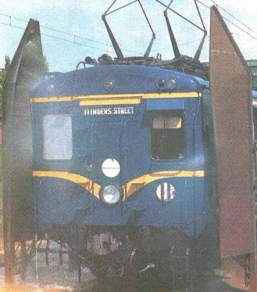 The blue Harris trains were full of asbestos, so only a few examples still exist today.