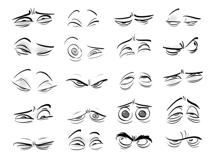 Cartoon Characters Eyes : Best character anatomy eyes images on pinterest
