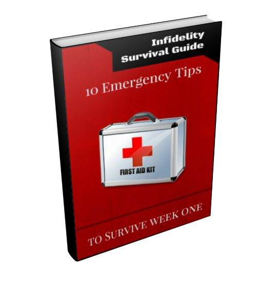 Learn how me, Orlando, the owner of InfidelityFirstAidKit.com overcame the horrific pain of discovering my wife's affair and survived the first week without completely falling apart.