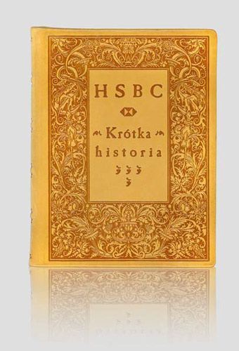 """HSBC.Krótka historia - A short story"". Exclusive artistic books – unique leather binding. http://www.kurtiak-ley.com/hsbc-a_short_story-krotka_historia/. Luksusowe książki artystyczne. Ręczne oprawy w skórę. http://www.kurtiak-ley.pl/hsbc-artystyczne-ksiazki-na-zamowienie/."