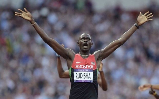 David Rudisha - his name forever etched into my mind