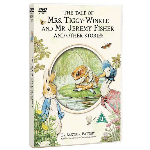 Peter Rabbit - The Tale of Mrs. Tiggy-Winkle and Mr. Jeremy Fisher and Other Stories. Product code: BBCDVD2177