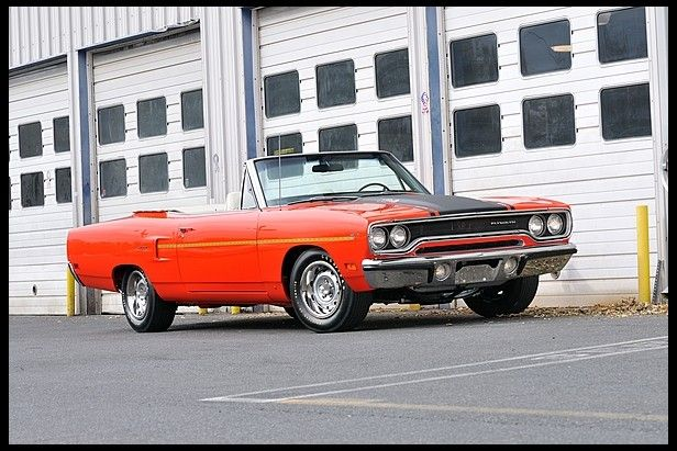 1970 Plymouth Road Runner Convertible 440 Six Pack, AutomaticSix Pack