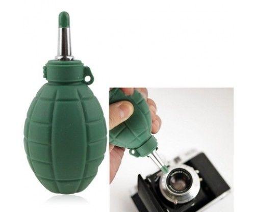 Lencse tisztító - portalanító gránát. Fényképezőgép, telefon kamerájának, objektívjének portalanításához.