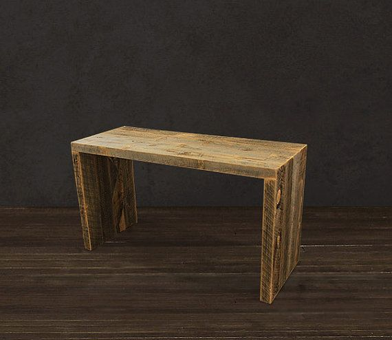 reclaimed wood console reclaimed wood furniture