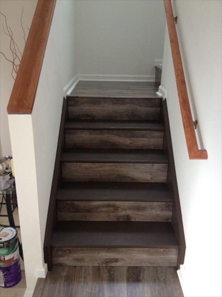 Die besten 25+ Laminate flooring on stairs Ideen auf Pinterest