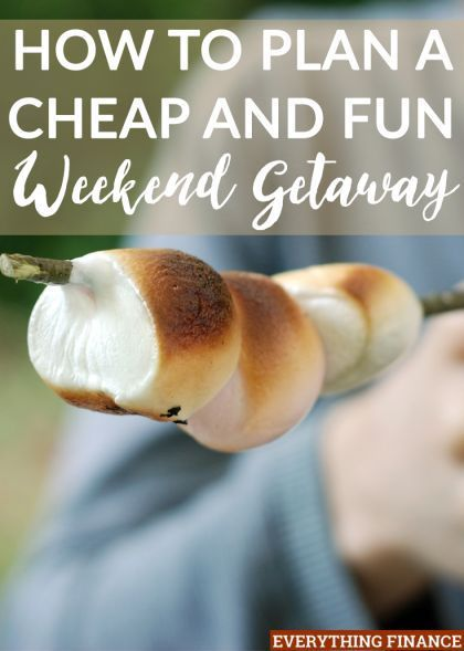 I love getting out of town and exploring new places. If you want to get out of your house to explore more, here's how you can plan a cheap weekend getaway.